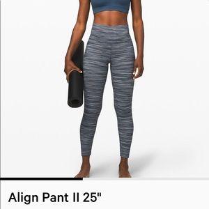 """Lululemon Align Leggings 25"""" - high rise - LIKENEW"""
